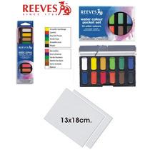 Set Para Pintar Día Del Niño Acuarelas-pincel-cartón/tela