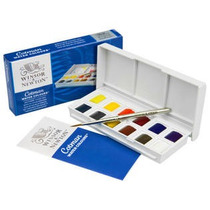 Set De Acuarela X 12 Colores - Cotman - Winsor & Newton