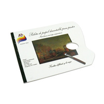 Paleta Descartable X 40 Hojas 58 Grs 23 X 30 Cm Ad (16216)
