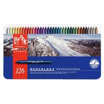 Set Crayones Carandache Neocolor Ii Classic X 126 (3259)