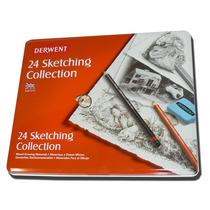Set Dibujo Derwent Sketching Collection X 24 (13370)