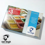Kit De Acuarela Pocket Box Van Gogh 15 Colores + Pincel