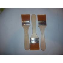 Pinceletas Pelo Sintetico (3,5cm) De Ancho