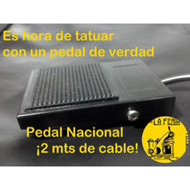 Combo Tattoo Fuente,pedal Y Clipcord