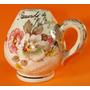 Antiguo Mate De Porcelana / Pintado Al Oro / Floral