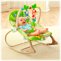 Silla Mecedora Fisher Price Rainforest Friends Hasta 18kg
