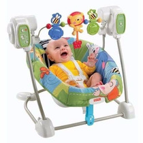 Columpio,silla Vibradora 2 En 1 Discover N Grow Fisher Price