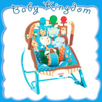 Silla Mecedora Fisher Price Safari. Jugueteria Baby Kingdom.