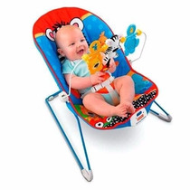 Silla Mecedora Fisher Price Adorable Animales Con Vibracion