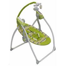 Columpio Mecedor Bebe Premiun Baby Control Remoto 6 Vel.