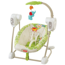 Fisher Price Y8649 Silla Mecedora C/melodias Y Movimientos!