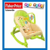 Silla Mecedora Fisher Price Modelo Lizards - Nueva !