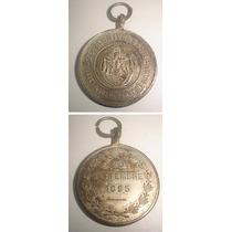 Medalla Argentina 25 Aniversario Liberacion Roma 1895
