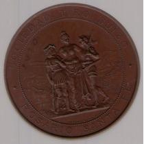 Medalla Tiro Suizo Rosario Santa Fe 1895 S/c