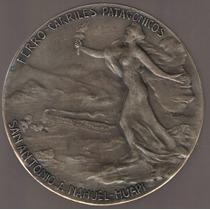 Medalla Ferrocarril San Antonio A Nahuel Huapi 1910 Exc-