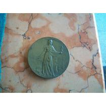 Antigua Medalla Inaguracion Museo Municipal 1921 Buenos Aire