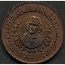 Medalla Hospital Cristobal Colon Buenos Aires Bronce