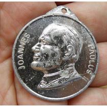 Medalla Juan Pablo 2 Visita A La Argentina 1987 - Diam 3,5cm