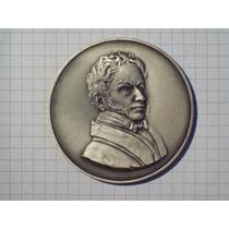 Medalla Academia Argentina Numismatica A Pedro De Angelis