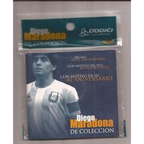 Blister Medalla De Maradona Con Motivo De 40 Aniversario
