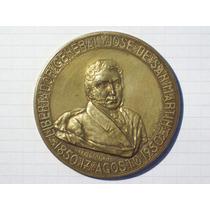 Medalla San Martín Instituto Bonaerense De Numismatica 1950