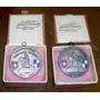 2 Medallas Centenario Colonia Suiza Casa G.tammaro Uruguay