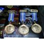 Medallon Para Bomberos Con Portamedalla Y Cinta