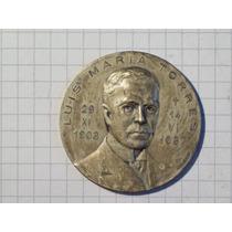 Medalla Junta Historia Y Numismatica Americana Luis M Torres
