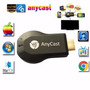 Dongle Hdmi Wifi Anycast Celular Smartphone Tablet Ipad A Tv