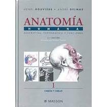 Anatomia Rouviere 11ed Combo 4 Tomos. A4