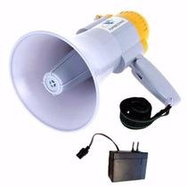 Megafono Amplificador - Grabador - Bateria Recargable -