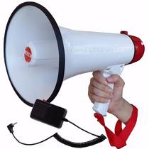 Megáfono Amplificador 20 Watts Micrófono Sirena 400 M Sk-33s