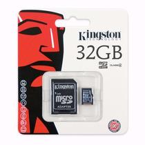 Memoria Kingston Micro Sd Hc 32gb Clase 4 Original Blister