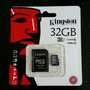 Memoria Kingston Micro Sd Hc 32gb Clase 10 Full Hd Original