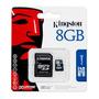 Memoria Micro Sdhc Kingston 8gb Camaras Celulares Mp4 Y Mas