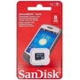 Tarjeta De Memoria 8gb Micro Sdhc Sandisk-tucuman