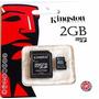 Memoria Micro Sd 2gb Kingston 100% Nuevo