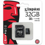 Memoria Kingston Microsd 32gb Clase 10 Full Hd Orig Lenix