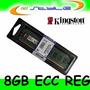Kingston 8gb Ddr3 Ecc Reg P/ Dell Workstation T5500 T5600