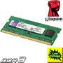 Memoria Ddr3 4gb 1600 Sodimm Kingston Low Voltaje 1.35v Note