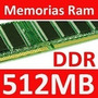 Memoria Ddr 512 Mb Pc 333/400 Garantia Microcentro Coyote