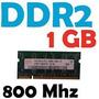 Memoria Sodimm Ddr2 1gb 800 Mhz Centro Y Pais