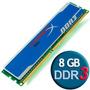 Memoria Ram Para Pc 1 X 8gb Ddr3 1600 Mhz Kingston Hyperx