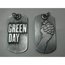 Green Day Greenday Colgante Dije Doble Collar En Stock