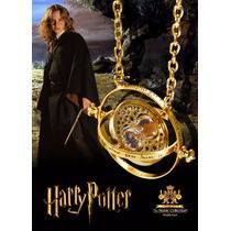 Collar Harry Potter Giratiempo Y Snitch Dorada Quidditch