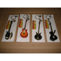 Kiss Stanley Simmons Llaveros Guitarras Bajos /envio T/pais