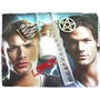 Supernatural Collar Multidijes Frasco Sal Fuego Pentagrama