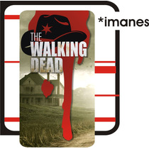 The Walking Dead Imanes O Stickers De La Serie Twd