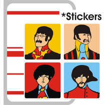 Beatles Stickers O Imanes The Beatles Submarino Amarillo