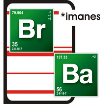 Breaking Bad - Imanes Decorativos Bb